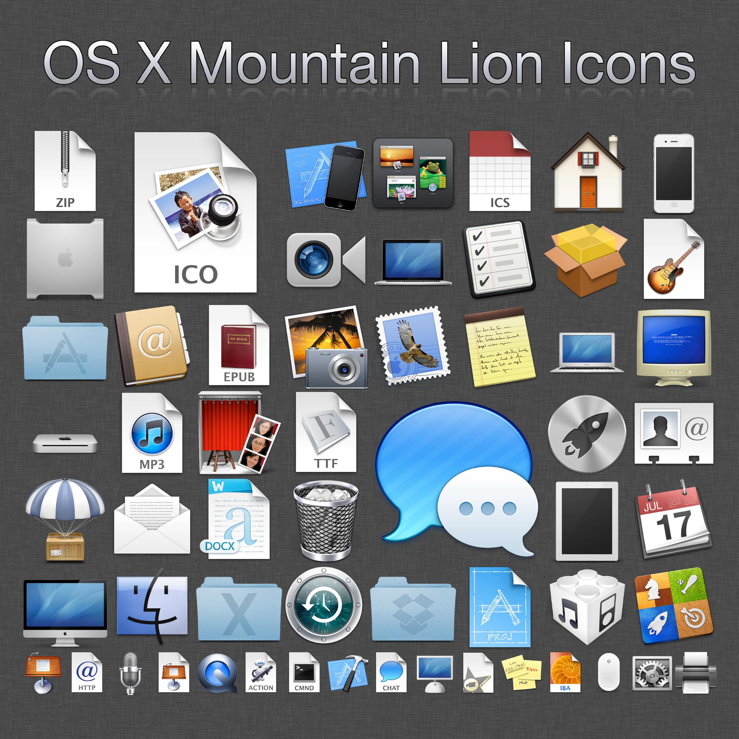 500+ Mountain Lion Icons (ICO) by MrWhiteEye on DeviantArt