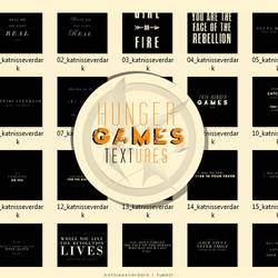 hunger games TEXTures