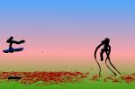 Wrax vs Lubby by wraz1