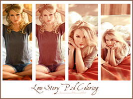 Love Story Psd coloring by Ioumaima