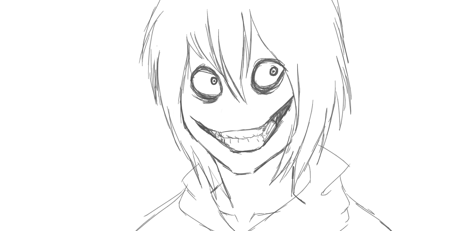 creepypasta coloring pages online - photo#27