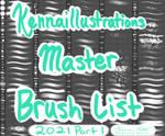 2021 Brushes Part 1