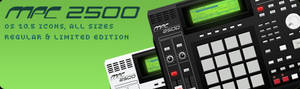 Akai MPC 2500 Icons