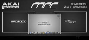 Akai MPC Series Wallpaper Pack