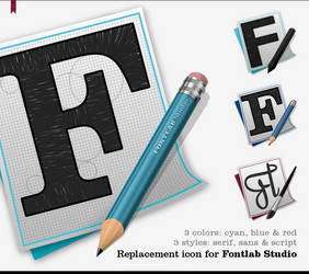 FontLab Studio Icons OS X