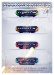 The Gaming Rankset v1 by BowskenArts