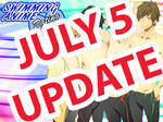 Swimming Anime Dating Sim: July 5 Update