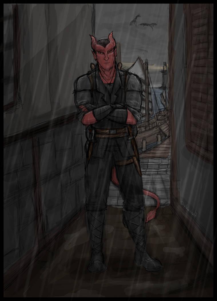 Tiefling Rogue: Malikus by Drakarra on DeviantArt