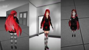 Cherry Pau skin yandere simulator