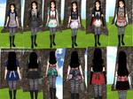 Alice Madness Returns skins yandere simulator
