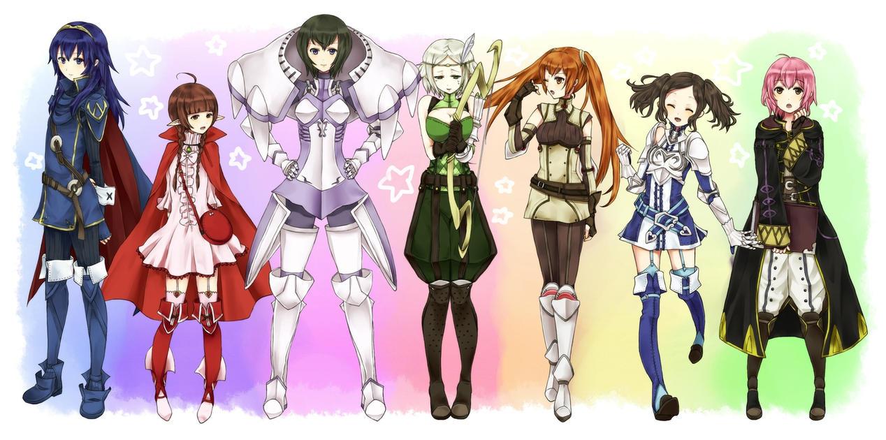 Fire Emblem Awakening Girls x M!Reader by Bobaccountemps1 on DeviantArt