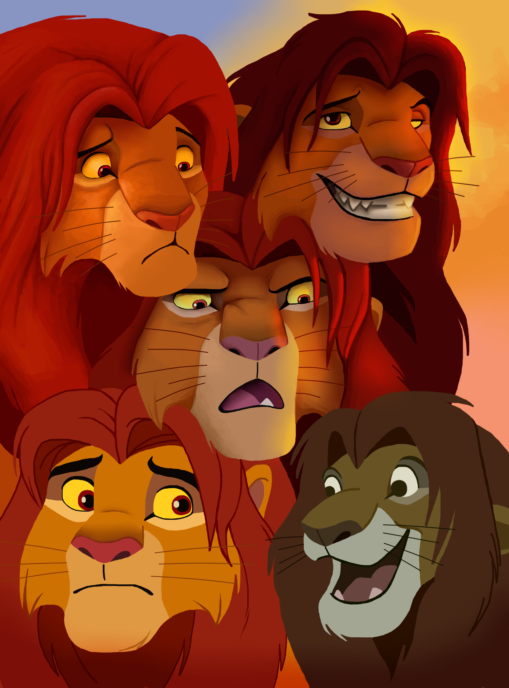 So Many Simbas By Nostalgicchills On Deviantart-2890