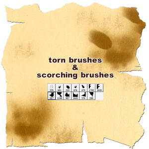 torn+scorching brushes