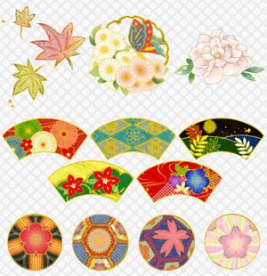 Japanese style image set