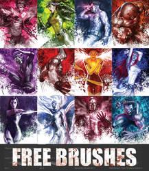 Art of Tu Brushes (X-Men)