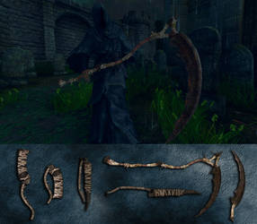 Bloodborne Burial Weapons by Room207