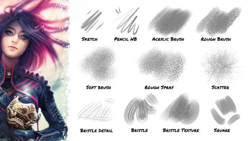 Brushes for Clip Studio Paint