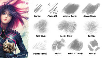 Brushes for Clip Studio Paint by typesprite