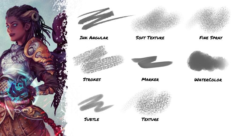 Brush set Vol. 2 for Clip Studio Paint