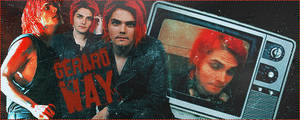 Gerard Way Animated banner v2