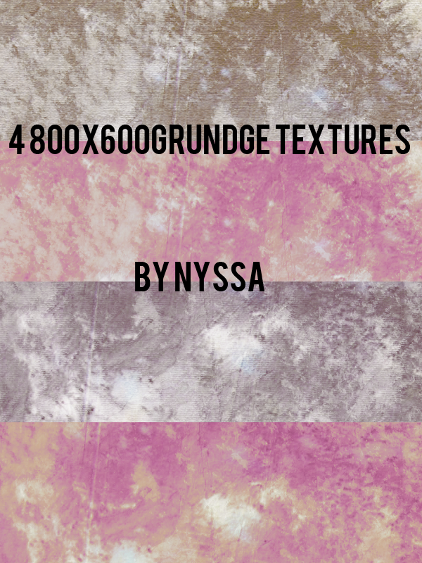 4 800x600 Grunge Textures by Nyssa-89