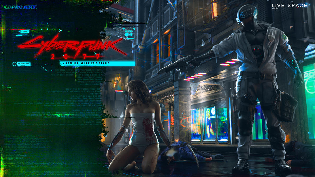 Cyberpunk 2077 By 1n-StereO On DeviantArt
