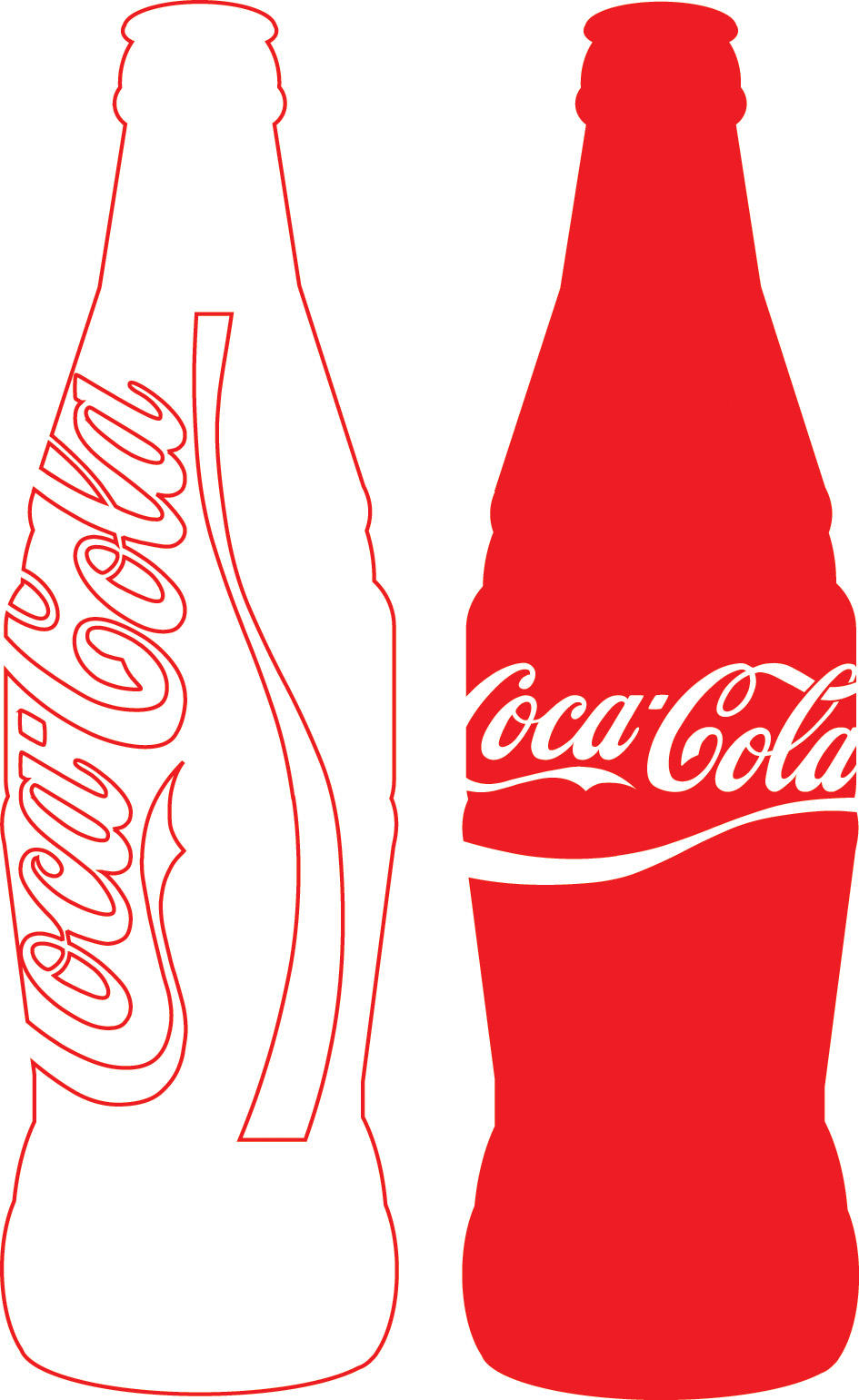 coca cola outline - the coca-cola company the coca-cola company is the largest manufacturer, distributor and marketer of nonalcoholic beverage concentrates and syrups in the world coca-cola's headquarters are in atlanta, georgia, in the united states of america.