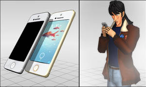 [MMD] iPhone 5 and iPhone5s DL