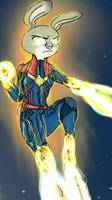 Captain Bunnvel (Animated) by TheNightManager