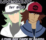 love:duality - 1st side (Pkmn fanfic) | COMMISSION by MajorasMasks