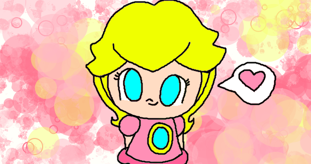 How To Draw Baby Peach