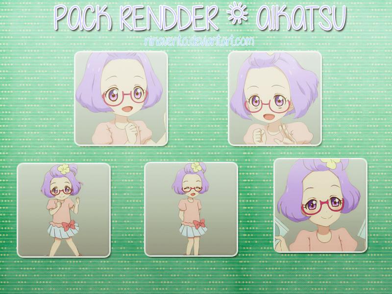 [28052016] #15 Pack render Aikatsu by NinaVento