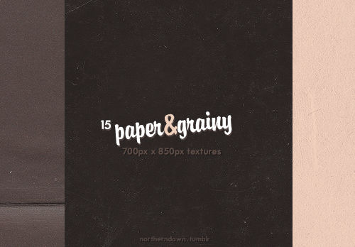 paper and grainy I texture pack