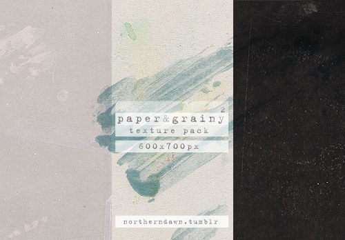 paper and grainy II texture pack