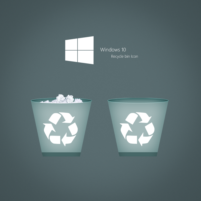 10 Recycle Bin Icon Windows 1.0 Images - Recycle Bin Icon ...