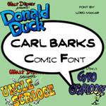 Carl Barks Font