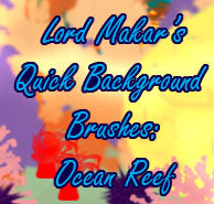 Quick BG Brushes: Ocean Reef by LordMakar