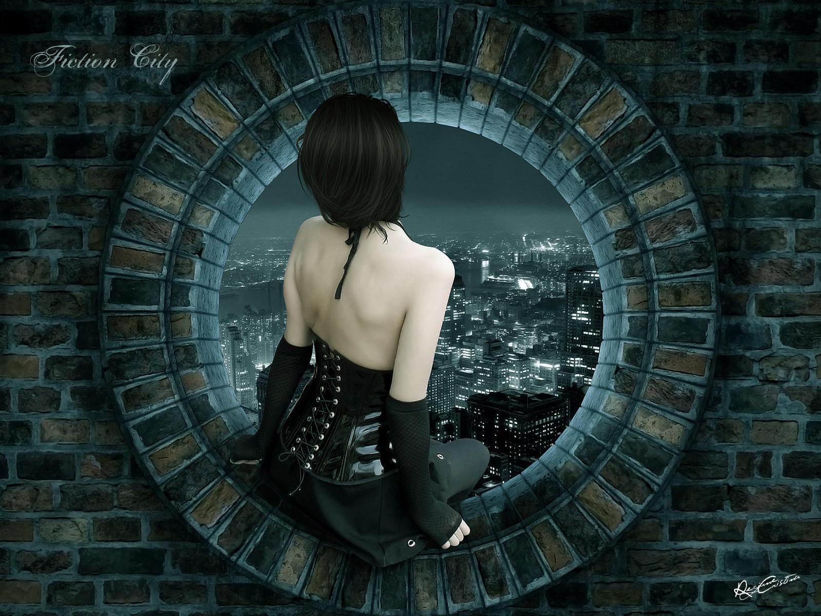 Fiction City - Wallpaper by desideriasp on DeviantArt
