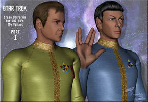 Star Trek: Dress Uniforms I by Anendda-Rysden