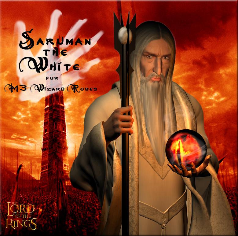 Saruman the White by Anendda-Rysden