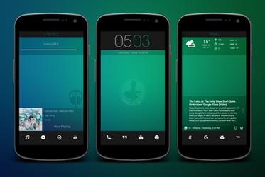 Scope's Custom Homescreen Design by Scope10