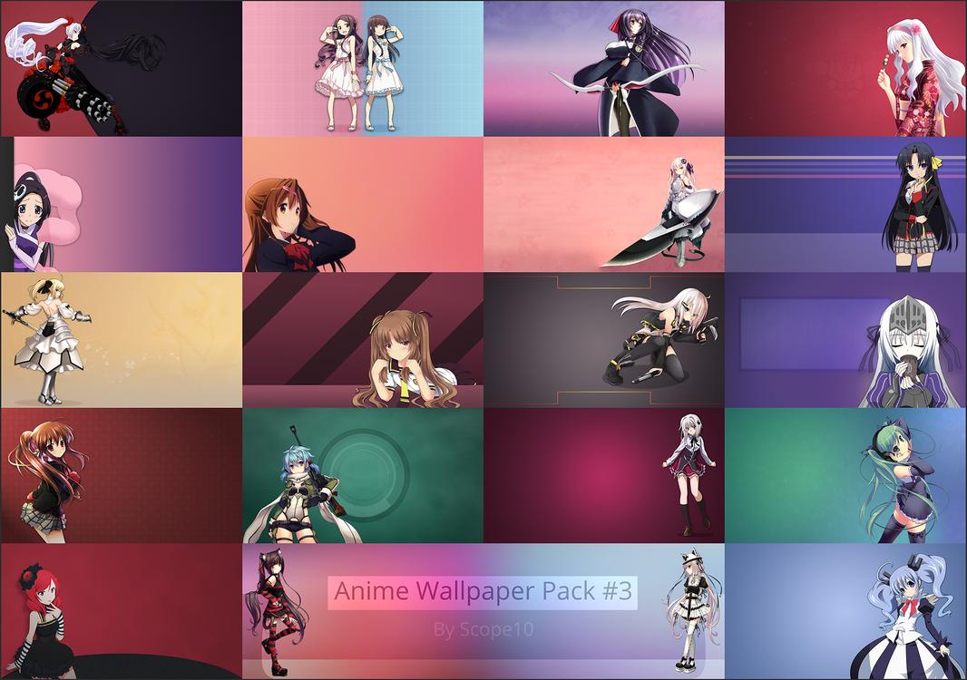 Anime Wallpaper Pack  By Scope On Deviantart