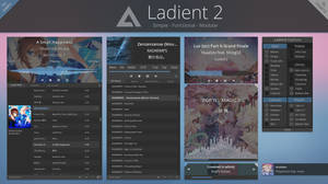 Ladient 2 - AIMP 4 skin