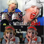 White and Red Action