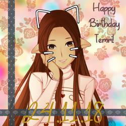 Happy Birthday Termi! by Wintaa