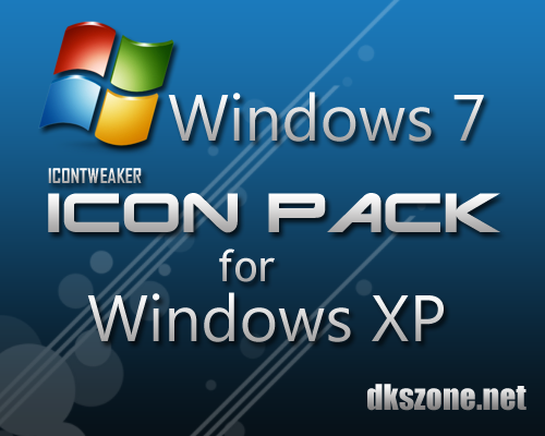 Windows 7 Icon Pack for XP by dkszone