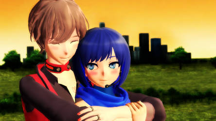 -MMD- Warmth by your touch by RAIN-P
