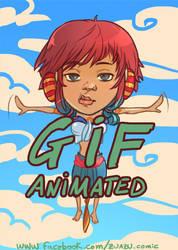 Mai - animated gif - by fabzim