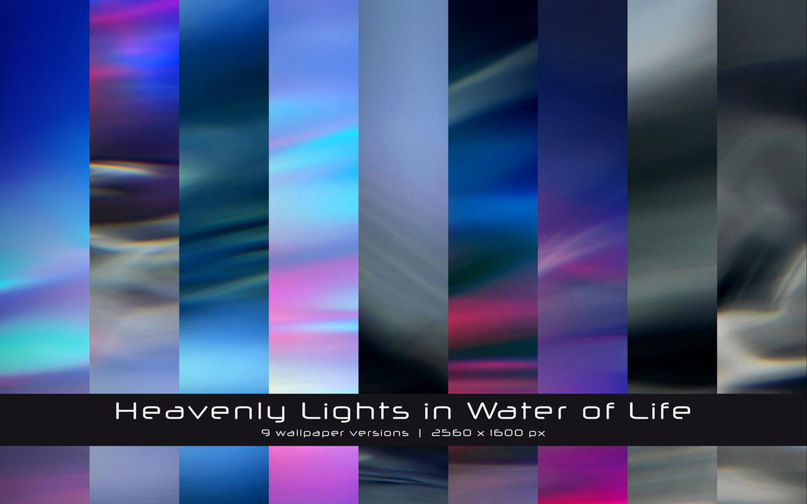 Heavenly lights in ... WP9Pack by GregorKerle