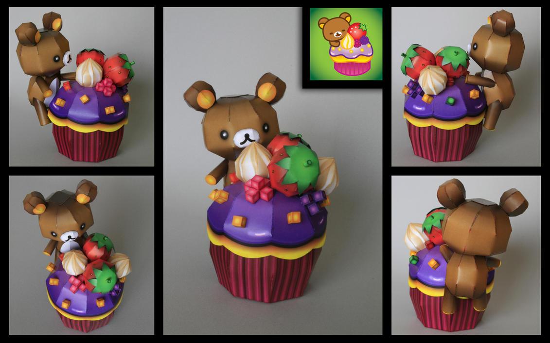 rilakkuma happy cupcake pcraft by ikarusmedia